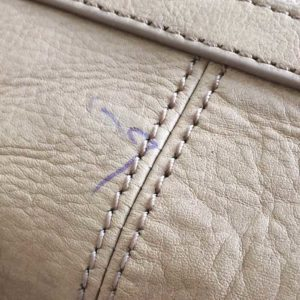Learn how to remove ink from leather